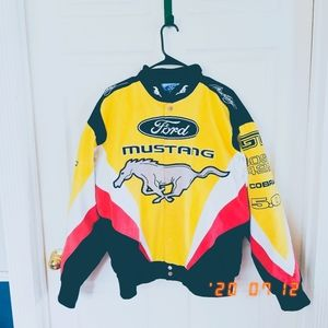 Official Ford Mustang denim racing jacket